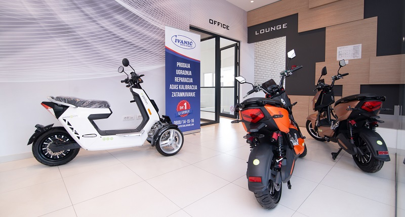 Električni skuteri i motori – Motogrini