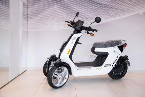 elektricni trocikl na baterije